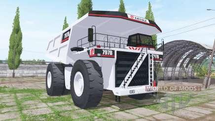 Caterpillar 797B для Farming Simulator 2017