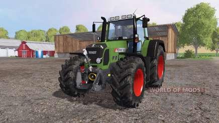 Fendt 820 Vario TMS green для Farming Simulator 2015