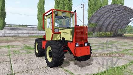 Mercedes-Benz Trac 900 Turbo forest для Farming Simulator 2017