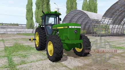 John Deere 4560 v1.3 для Farming Simulator 2017