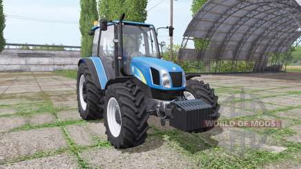 New Holland T5030 blue для Farming Simulator 2017