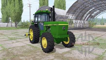 John Deere 4840 v1.2 для Farming Simulator 2017