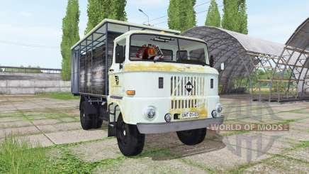 IFA W50 L cattle transport для Farming Simulator 2017