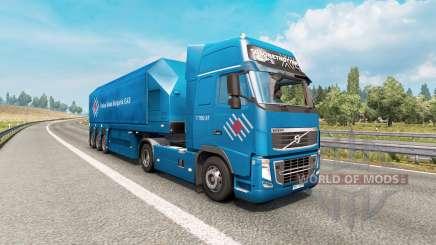 Painted truck traffic pack v3.4 для Euro Truck Simulator 2