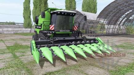 Deutz-Fahr 7545 RTS для Farming Simulator 2017