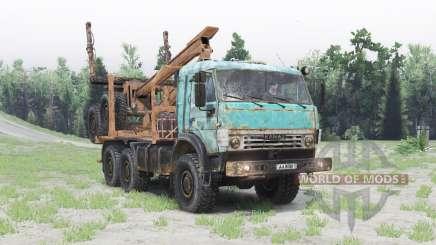 КамАЗ 53504 v1.6 для Spin Tires
