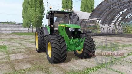 John Deere 6175R v2.1 для Farming Simulator 2017