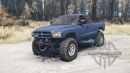 Dodge Dakota Club Cab 1997 v1.1 для MudRunner