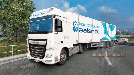 Painted truck traffic pack v3.9 для Euro Truck Simulator 2