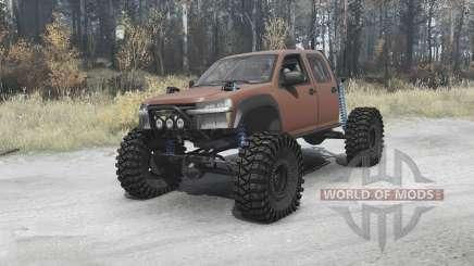Chevrolet Colorado crawler для MudRunner