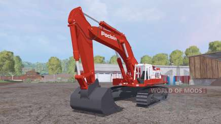 Poclain 400CK для Farming Simulator 2015