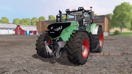 Fendt 1050 Vario green and red для Farming Simulator 2015