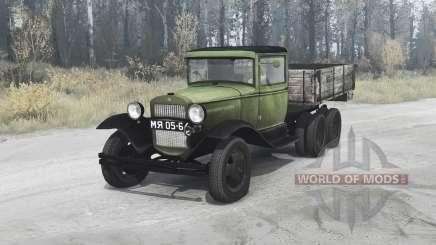 ГАЗ ААА 1934 для MudRunner