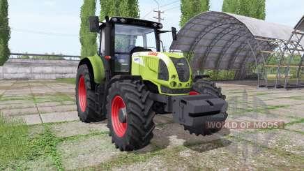 CLAAS Arion 640 v1.1 для Farming Simulator 2017