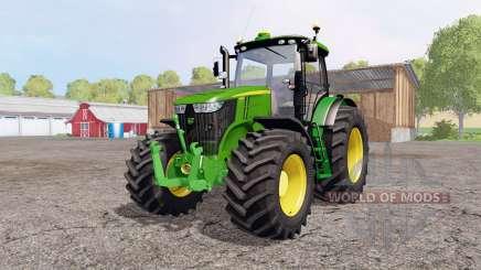 John Deere 7310R green для Farming Simulator 2015