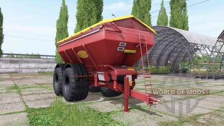 BREDAL K165 red для Farming Simulator 2017