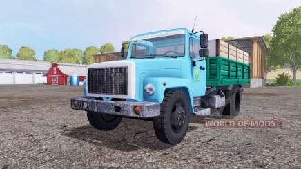 ГАЗ 3307 синий для Farming Simulator 2015