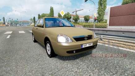 Russian traffic pack v1.8 для Euro Truck Simulator 2
