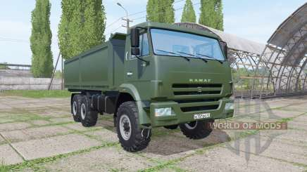 КАМАЗ 43118-24 2010 для Farming Simulator 2017
