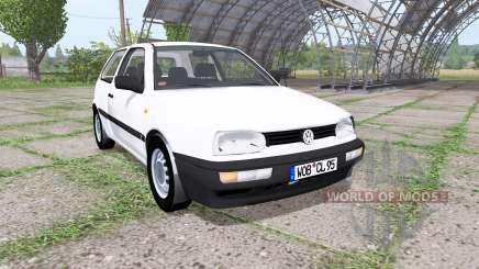 Volkswagen Golf (Typ 1H) 1995 v2.0 для Farming Simulator 2017