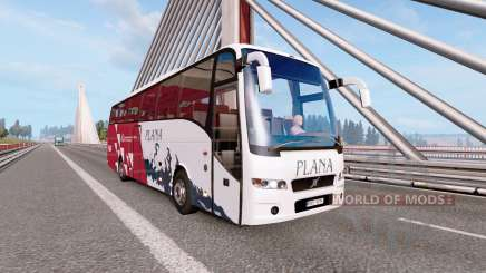 Bus traffic v2.3 для Euro Truck Simulator 2