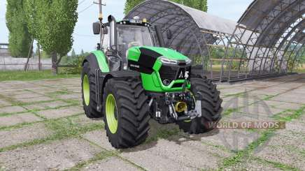 Deutz-Fahr Agrotron 9340 TTV green design v1.1 для Farming Simulator 2017