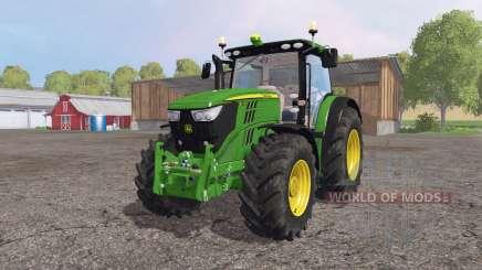 John Deere 6210R для Farming Simulator 2015