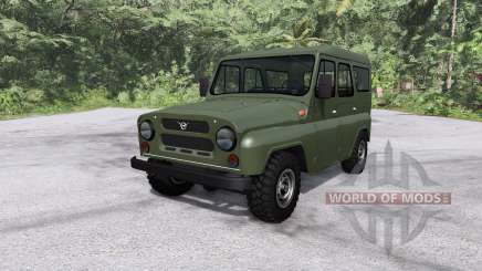 УАЗ 31512 для BeamNG Drive