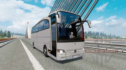 Bus traffic v2.0 для Euro Truck Simulator 2