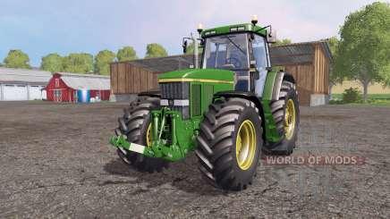 John Deere 7810 green для Farming Simulator 2015
