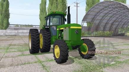 John Deere 4240 v3.0 для Farming Simulator 2017