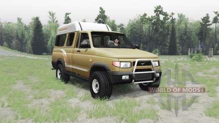 УАЗ 2760 Сталкер для Spin Tires