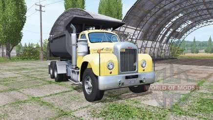 Mack B61 dump truck для Farming Simulator 2017