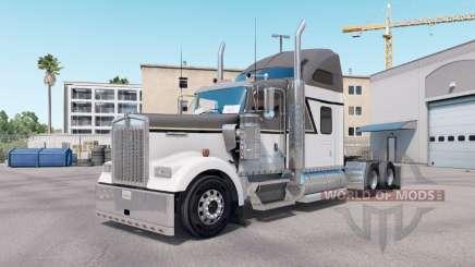 Скин Master Gray на тягач Kenworth W900 для American Truck Simulator