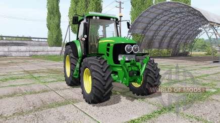 John Deere 7530 Premium green для Farming Simulator 2017