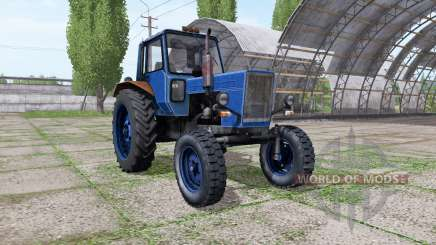МТЗ 80 Беларус тёмно-синий для Farming Simulator 2017