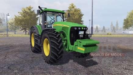 John Deere 8520 v1.1 для Farming Simulator 2013