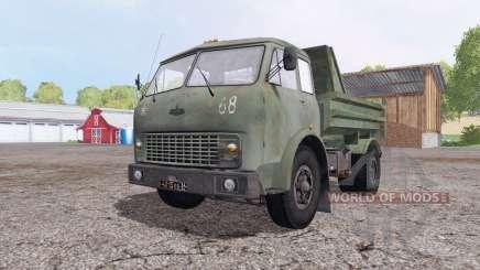 МАЗ 5549 зелёный для Farming Simulator 2015
