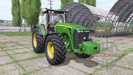 John Deere 8430 green для Farming Simulator 2017