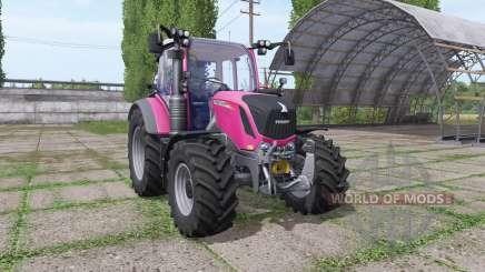 Fendt 310 Vario pink для Farming Simulator 2017
