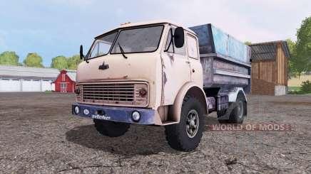 МАЗ 5549 бежевый для Farming Simulator 2015