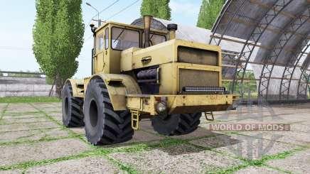 Кировец К 700 жёлтый v1.2 для Farming Simulator 2017