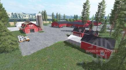 Американская ферма v3.0 для Farming Simulator 2017