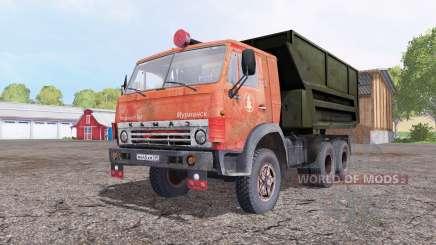 КамАЗ 5511 красный для Farming Simulator 2015