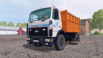 МАЗ 5551 v2.0 для Farming Simulator 2015
