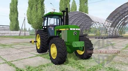 John Deere 4055 для Farming Simulator 2017
