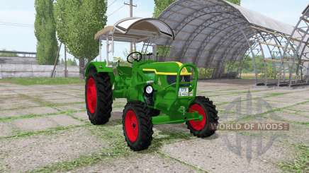 Deutz D40 4WD для Farming Simulator 2017