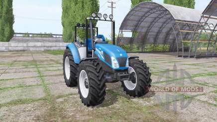 New Holland T4.75 v1.1 для Farming Simulator 2017