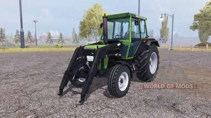 Deutz D 62 07 C front loader для Farming Simulator 2013