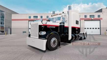 Скин Pyle Transportation Inc. на Peterbilt 389 для American Truck Simulator